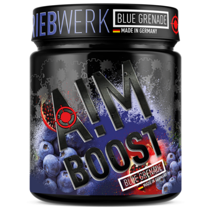 AIM BOOST Performance Booster – Blue Grenade –